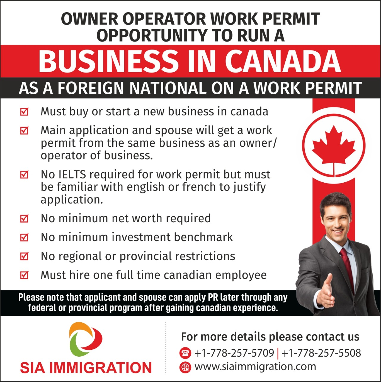 Sia Immigration Solutions Inc
