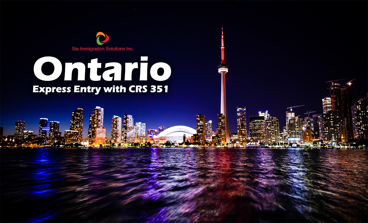 News sia immigration two new invitation rounds announced by the province of ontario where express entry candidates with comprehensive ranking system scores as low as 351 were stopboris Images